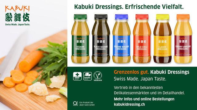 Kabuki Dressings: 10 Jahre japanische Salatsauce in der Schweiz