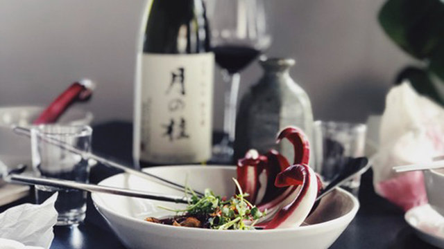 Asian Infused Wonders im KIN - mit Sake von shizuku