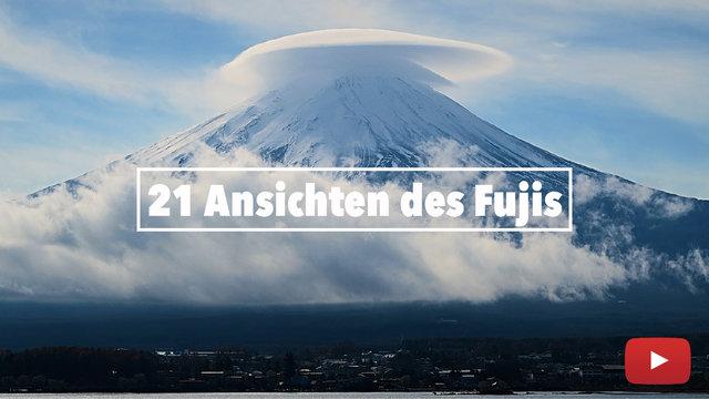 21 Ansichten des Fujis