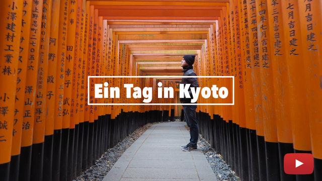 Ein Tag in Kyoto