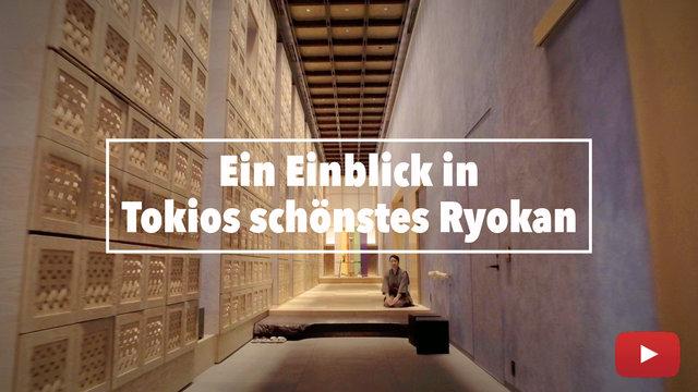 Das schönste Ryokan in Tokio